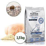 Platinum Natural Puppy Chicken for Puppies 1,5kg - Kibble for Puppies