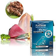 Platinum natural menu fish chicken ryby kuře 375 g