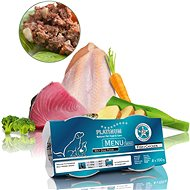 Platinum natural menu mini fish chicken 4 x 100 g - Paštika pro psy