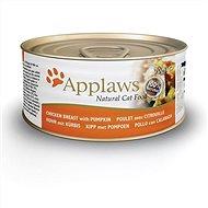 Applaws konzerva Cat kuřecí prsa a dýně 70 g - Konzerva pro kočky