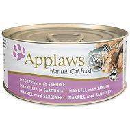 Applaws konzerva Cat makrela a sardinky 70 g