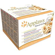 Applaws Canned Cat Food Multipack Chicken Selection 12 × 70g - Canned Food for Cats