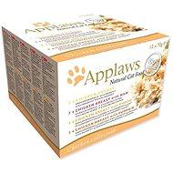 Applaws konzerva Cat multipack kuřecí výběr 12 × 70 g