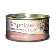Applaws konzerva Senior Cat tuňák a losos v želé 70 g - Konzerva pro kočky