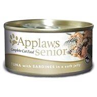 Applaws konzerva Senior Cat tuňák a sardinky v želé 70 g - Konzerva pro kočky