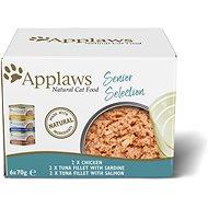 Applaws konzerva Senior Cat multipack 6 × 70 g