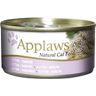 Applaws Canned Kitten Food Fine Sardine for Kittens 70g - Canned Food for Cats