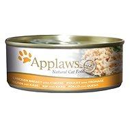 Applaws konzerva Cat kuřecí prsa a sýr 156 g - Konzerva pro kočky