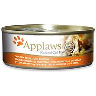 Applaws konzerva Cat kuřecí prsa a dýně 156 g  - Konzerva pro kočky