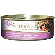 Applaws konzerva Cat makrela a sardinky 156 g - Konzerva pro kočky