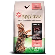Applaws granule Cat Adult kuře s lososem  400 g - Granule pro kočky