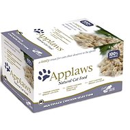 Applaws Pouch Cat Pot Multi-pack Chicken Selection 8 × 60g - Cat Food Pouch