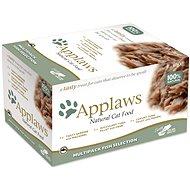 Applaws miska Cat Pot multipack Rybí výběr 8 × 60 g - Kapsička pro kočky