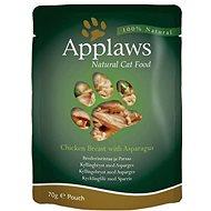 Applaws kapsička Cat kuřecí prsa a chřest 70 g - Kapsička pro kočky