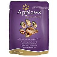Applaws Cat chicken breast pocket and wild rice 70 g - Cat Food Pouch