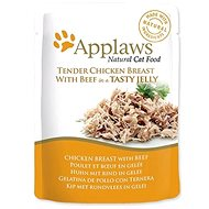 Applaws Cat Jelly pouch chicken breast and beef in jelly 70 g - Cat Food Pouch