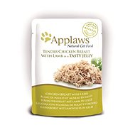 Applaws Cat Jelly chicken breast and lamb in jelly 70 g - Cat Food Pouch