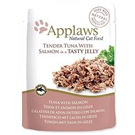 Applaws Cat Jelly Tuna and Salmon in Jelly 70 g - Cat Food Pouch