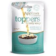 Applaws toppers Cat dýňová polévka s pražmou a tuňákem 3 × 40 g - Kapsička pro kočky
