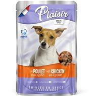Plaisir Dog kapsička kuřecí se zeleninou 22 × 100 g - Kapsička pro psy