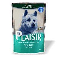 Plaisir Dog kapsička kachní 22 × 100 g - Kapsička pro psy