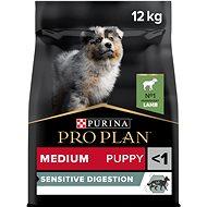Pro Plan medium puppy optidigest jehněčí 12 kg - Granule pro štěňata