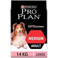 Pro Plan medium adult optiderma losos 14 kg - Granule pro psy