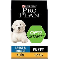 Pro Plan large puppy robust optistart kuře 12 kg - Granule pro štěňata