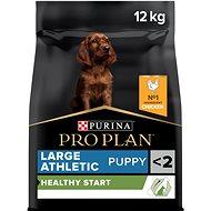 Pro Plan large puppy athletic optistart kuře 12 kg - Granule pro štěňata