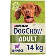 Dog Chow adult jehněčí 14 kg - Granule pro psy