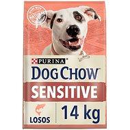 Dog Chow sensitive losos 14 kg - Granule pro psy