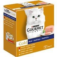 Gourmet gold (8 × 85 g) - paštiky - Konzerva pro kočky