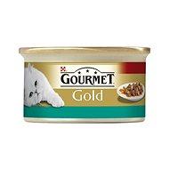 Gourmet gold - 85 g s lososem a kuřetem, kousky ve šťávě - Konzerva pro kočky