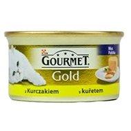 Paštika pro kočky Gourmet gold - 85 g s kuřetem, paštika - Paštika pro kočky