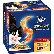 Felix sensations jellies 4 (24 × 100g) jelly - Cat pocket