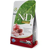 N&D PRIME CAT Adult Chicken & Pomegranate 1,5kg - Granule pro kočky