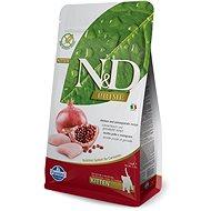 N&D grain free cat kitten chicken & pomegranate 10 kg - Granule pro koťata
