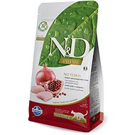 N&D grain free cat neutered chicken & pomegranate 5 kg - Granule pro kočky