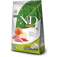 N&D grain free dog adult boar & apple 2,5 kg - Granule pro psy
