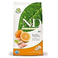 N&D grain free dog adult fish & orange 2,5 kg - Granule pro psy