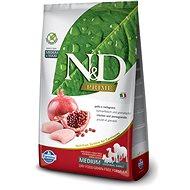 N&D grain free dog adult chicken & pomegranate 2,5 kg - Granule pro psy