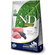 N&D grain free dog adult lamb & blueberry 12 kg - Granule pro psy