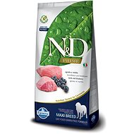 N&D grain free dog adult maxi lamb & blueberry 12 kg - Granule pro psy