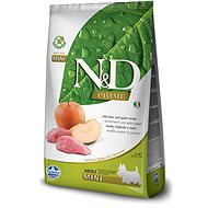 N&D grain free dog adult mini boar & apple 2,5 kg - Granule pro psy
