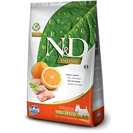 N&D grain free dog adult mini fish & orange 2,5 kg - Granule pro psy