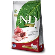 N&D grain free dog adult mini chicken & pomegranate 7 kg - Granule pro psy