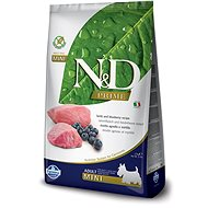 N&D grain free dog adult mini lamb & blueberry 7 kg