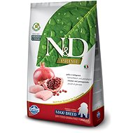 N&D grain free dog puppy maxi chicken & pomegranate 2,5 kg - Granule pro štěňata