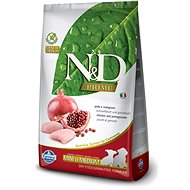 N&D grain free dog puppy S/M chicken & pomegr 2,5 kg