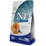 N&D grain free Pumpkin CAT Herring & Orange 1,5kg - Granule pro kočky